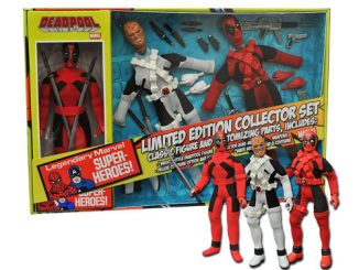 Deadpool Limited Edition 8-Inch Retro Action Figure Set