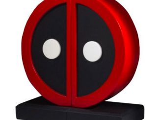 Deadpool Logo Bookends