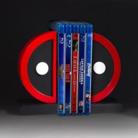 Deadpool Logo Bookends Movies