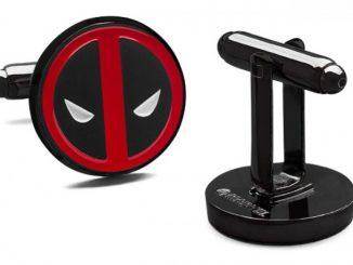 Deadpool Logo Cufflinks