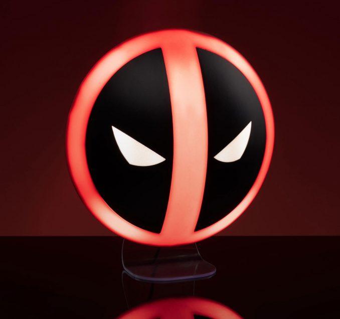 Deadpool Logo Lamp