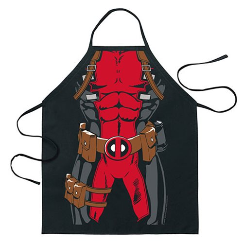 Deadpool Marvel Be the Character Apron
