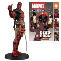 Deadpool Marvel Fact Files Special 5 Figure and Magazine