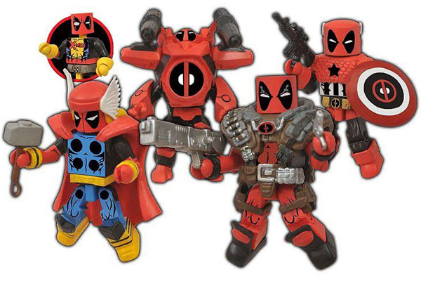 Deadpool Marvel Minimate Figures