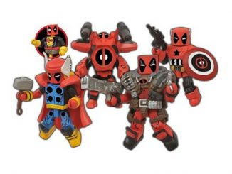 Deadpool Marvel Minimates Assemble Box