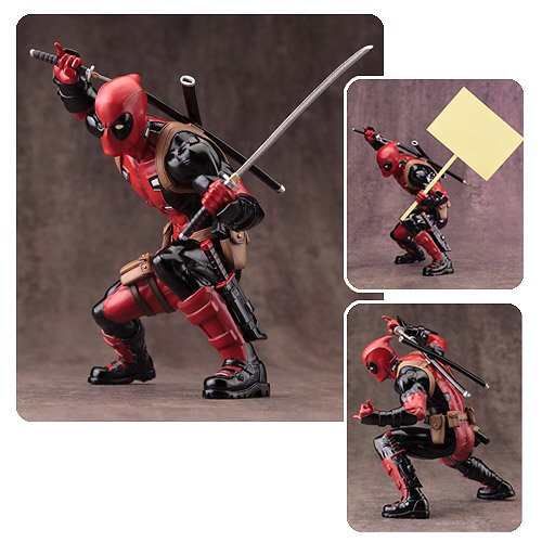 Deadpool Marvel Now ArtFX Statue