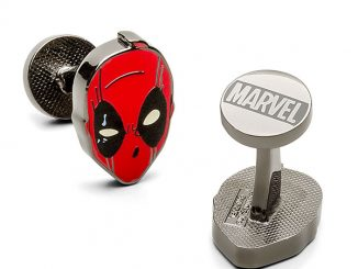 Deadpool Mask Cufflinks