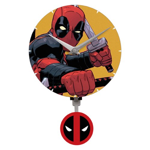 Deadpool Mini Motion Wall Clock