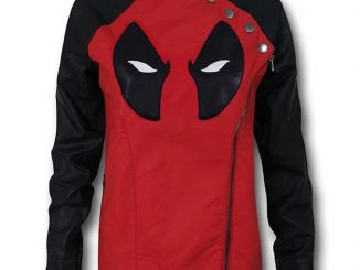 Deadpool Moto Womens Jacket
