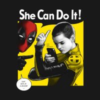 Deadpool Negasonic Can Do It Shirt
