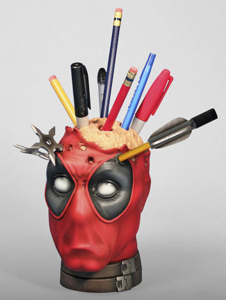 Deadpool Pencil Cup DeskTop Accessory