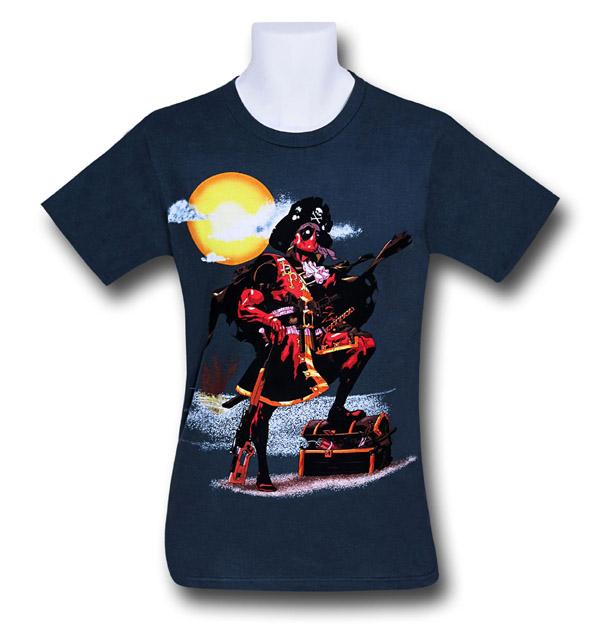 Deadpool Pirate T-Shirt