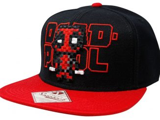 Deadpool Pixel Character Hat