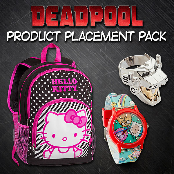Deadpool Product Placement Pack
