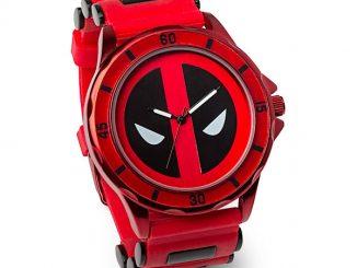 Deadpool Red Logo Watch