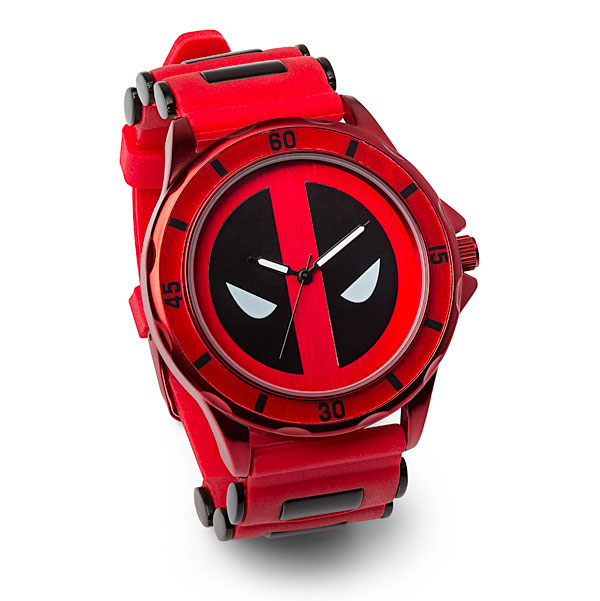Deadpool Red Logo Watch