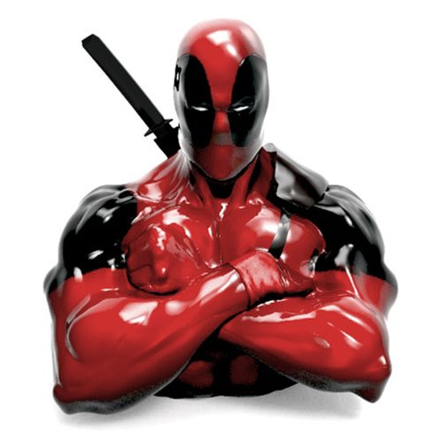 Deadpool Resin Coin Bank