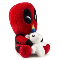 Deadpool Riding Unicorn Plush