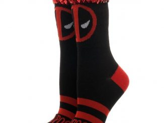 Deadpool Sequin Cuff Socks
