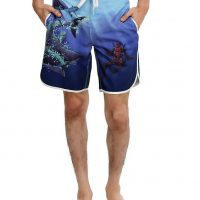 Deadpool Shark Swim Trunks