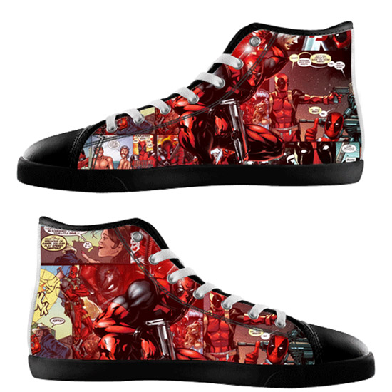Deadpool Shoes - black
