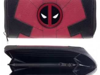 Deadpool Suit Zip-Around Wallet