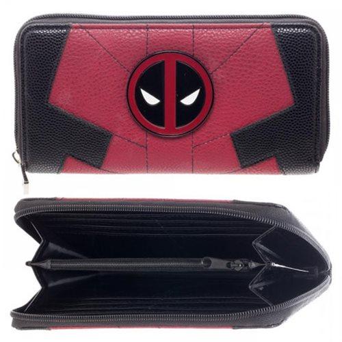 Deadpool Suit Zip-Around Wallet