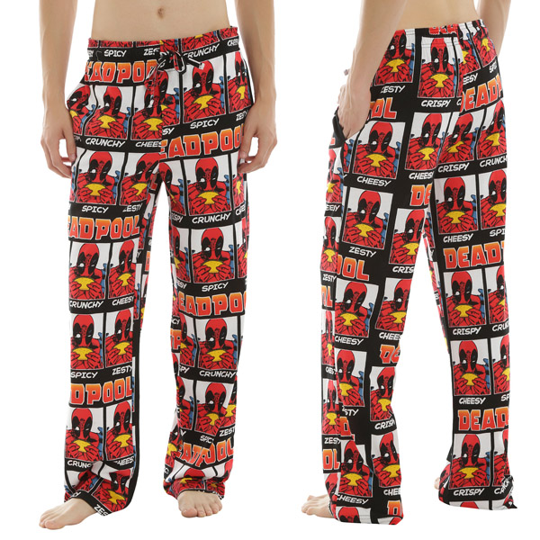 Deadpool Taco Pajama Pants