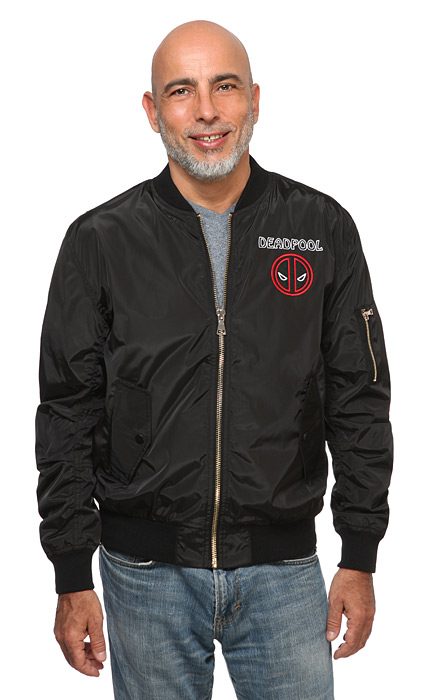 Deadpool Tacos Lightweight Bomber Jacket
