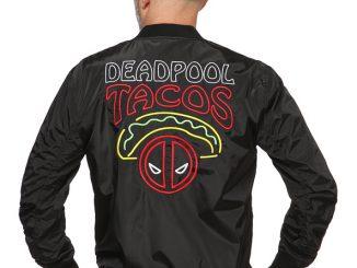 Deadpool Tacos Lightweight Bomber Jacket