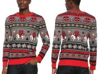 Deadpool Unicorn Christmas Sweater