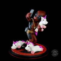 Deadpool Unicorn Selfie Q-Fig