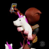 Deadpool Unicorn Selfie Q-Fig Detail