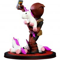 Deadpool Unicorn Selfie Q Fig Diorama