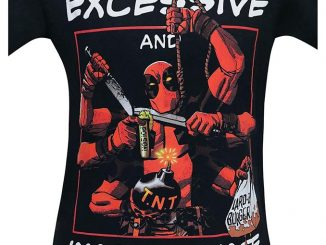 Deadpool Whoa That Seems Excessive Shirt