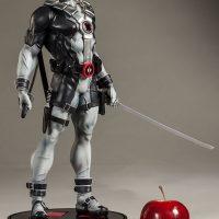 Deadpool X-Force Premium Format Figure Size comparison