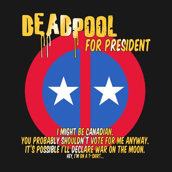 Deadpool for President Shirt