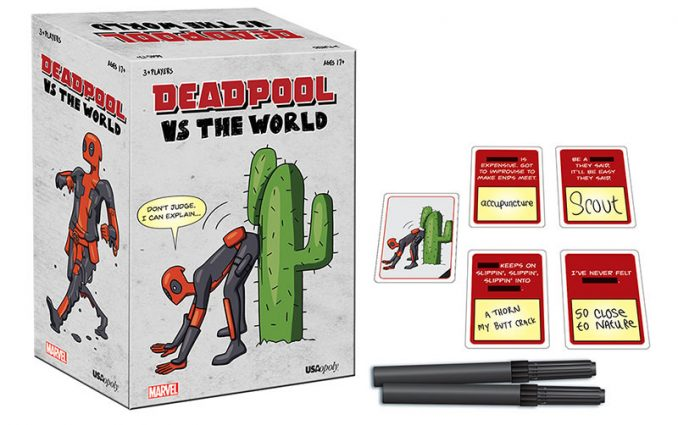 Deadpool vs The World Party Game