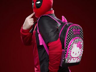 Deadpool's Hello Kitty Backpack