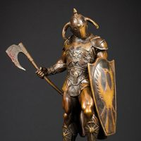Death Dealer Faux Bronze Statue_small