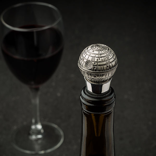 Death Star Bottle Stopper