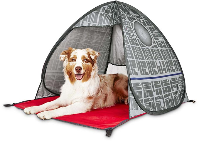 Death Star Dog Tent