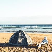 Death Star Dome Tent Beach