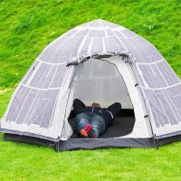Death Star Dome Tent Inside