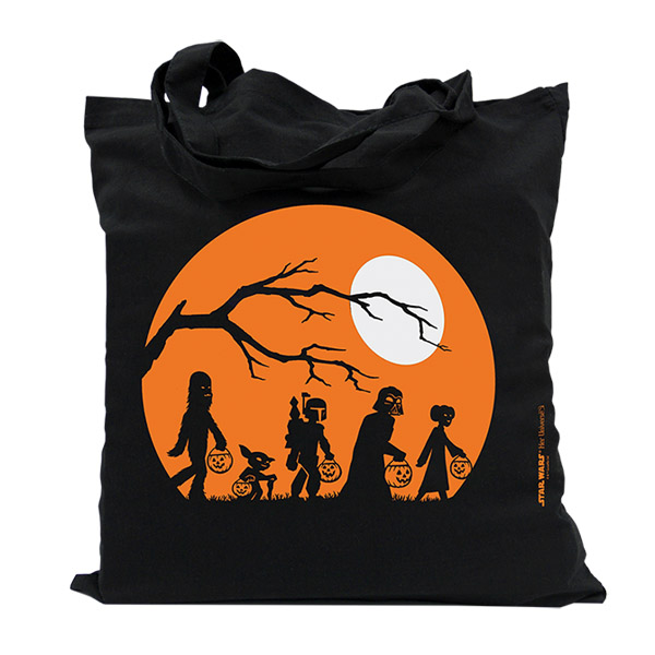 Death Star Halloween Tote