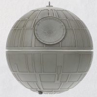 Death Star Ornament Light Sound