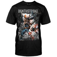 Deathstroke and Harley Quinn T-Shirt