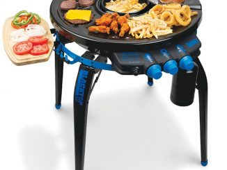 Deep Frying Portable Grill