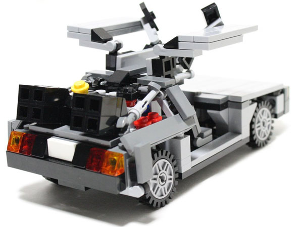 Delorean Custom Lego Set