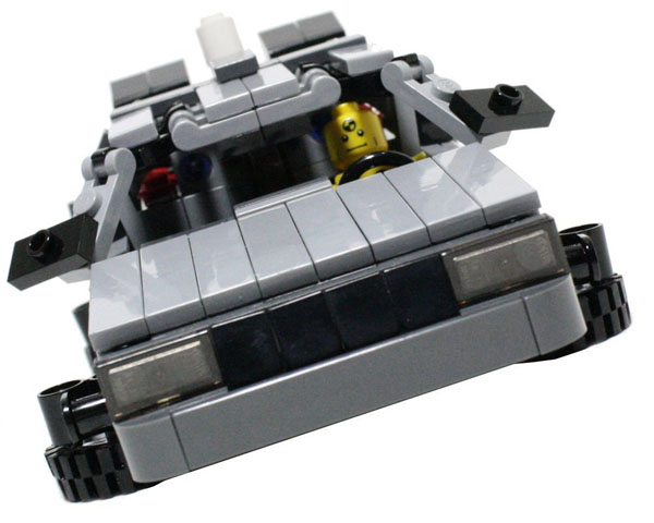 Delorean DMC-12 V4 Custom Lego Set
